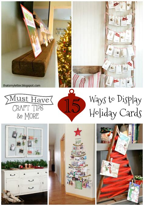 how to display cards crafty ways to display holiday cards the scrap shoppe