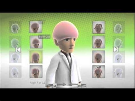 hairstyles xbox avatar xbox 360 avatar easter egg unlock all hair and color