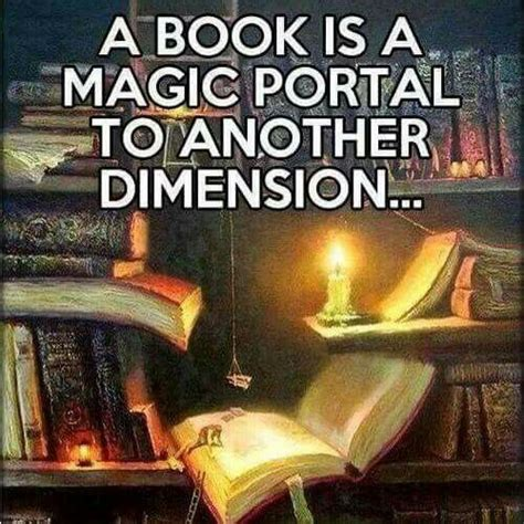 the magic portal books a book is a magic portal to another dimension books