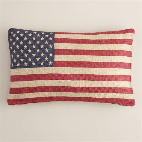 american flag lumbar pillow world market