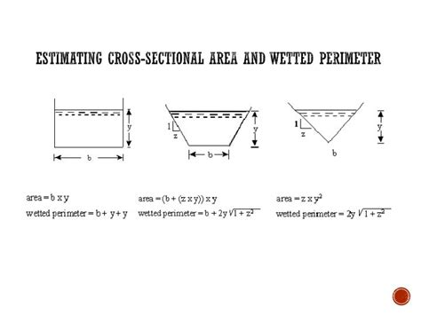 cross sectional area ppt stream flow measurement monitoring powerpoint