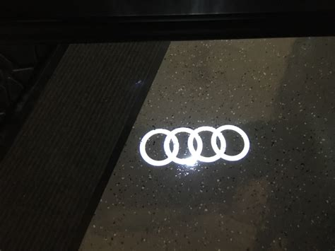 audi rings door light audi rings puddle lights page 5 audiworld forums