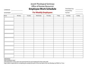 20 hour work week template employee work schedule for