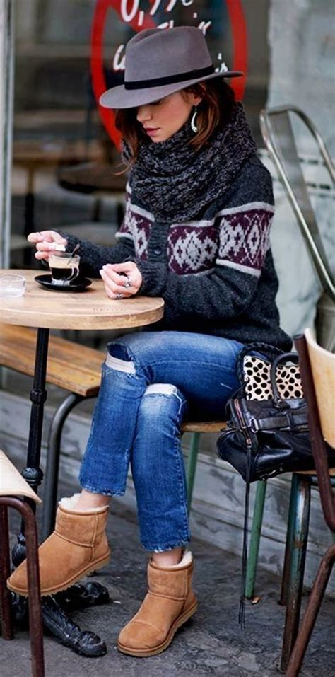 tribal pattern winter boots 40 tribal pattern winter outfits for 2018 stylishwife