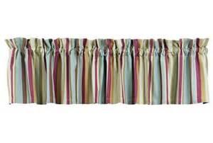 Nautical Striped Curtains Decor Nautical Curtain Valance Sea Glass Decor Blue Stripe Window Curtain