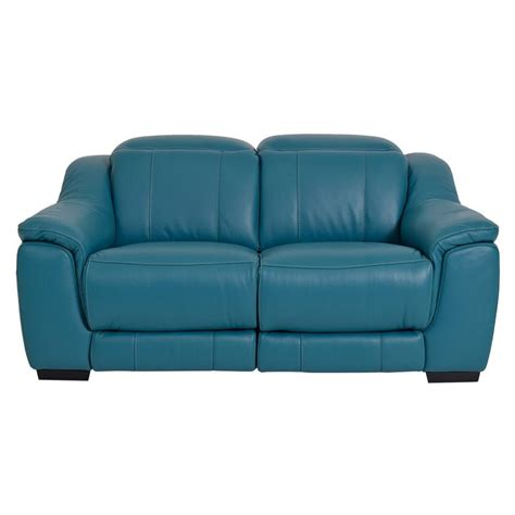 blue reclining sofa and loveseat davis blue power motion leather loveseat el dorado furniture