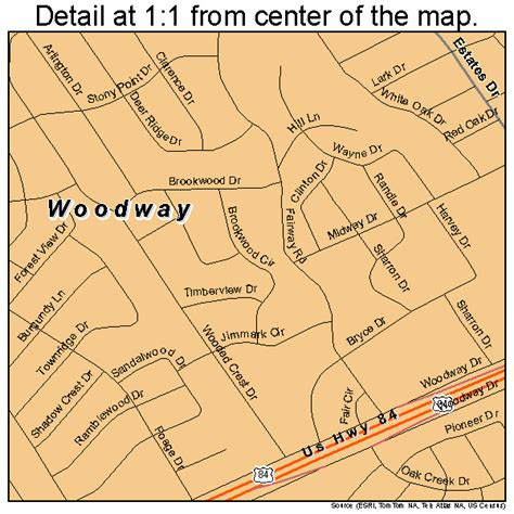 woodway map 4880224