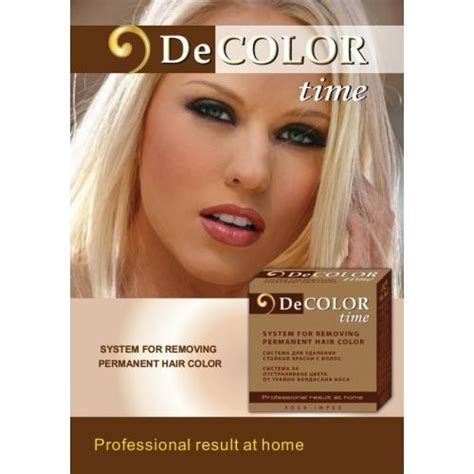 color remover decolor haircolor remover system for colour removal from a