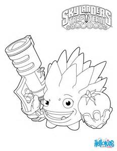 skylanders coloring page skylanders trap team coloring pages food fight