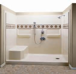Sterling Bath Shower Units shower inserts with seat lowe s walk in shower stalls