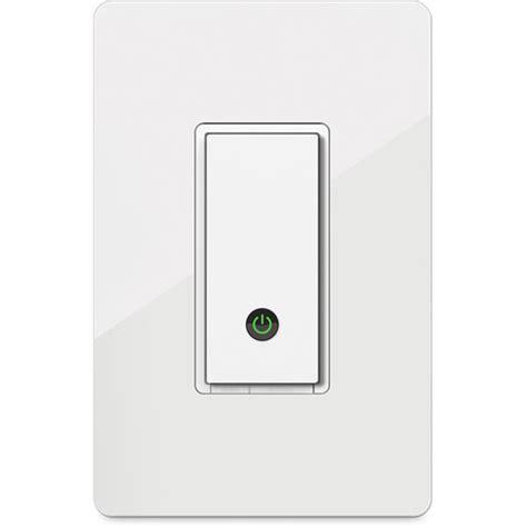 Wemo Light Switch Installation by Wemo Wemo Light Switch F7c030fc B H Photo