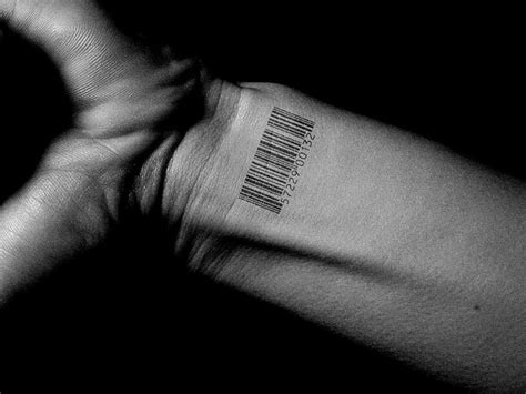 barcode tattoo on wrist barcode on wrist for tattooshunt