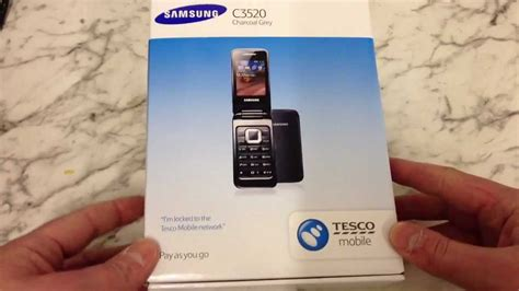 Samsung C3520 By samsung c3520 unboxing and review