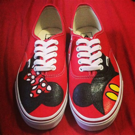 disney shoes for adults mickey minnie custom vans shoes more custom vans