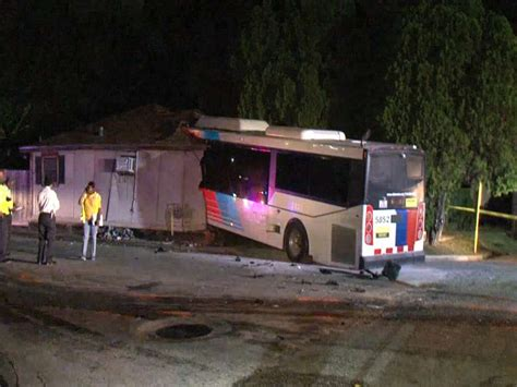several injured after metro crashes into home