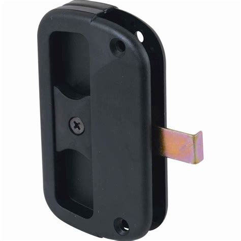 prime line plastic sliding screen door latch and pull a 186 the home depot