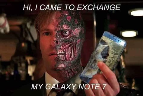 Two Face Meme - it s the bomb 20 samsung galaxy note 7 memes gifs