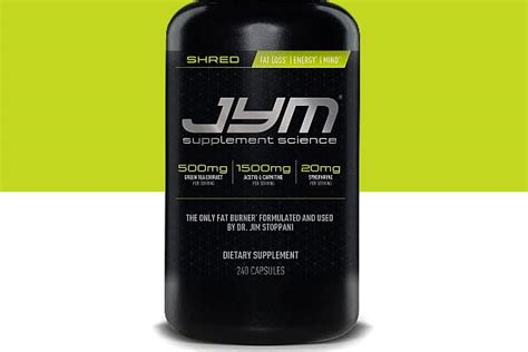 Shred Jym 240 Caps shred jym from jim stoppani now finally available at gnc