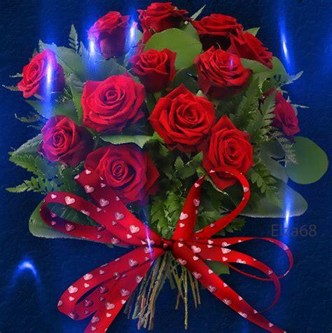 imagenes gifs hermosos paisajes gifs imagenes gifs ramo de rosas brillante
