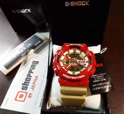 G Shock Ironman limited gshock ga 110cs 4ajf ironman color new 100