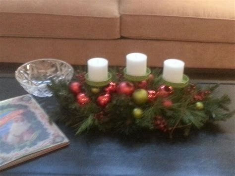 coffee table christmas centerpiece decor ideas pinterest