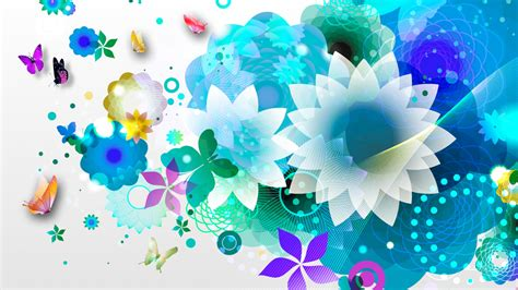 Best Flower blue flower wallpaper