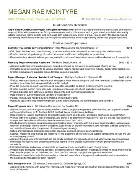 cover letter for home depot resume megan mcintyre