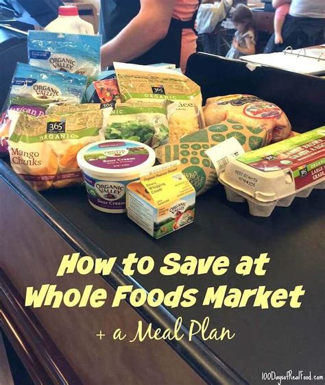 foods meal plan budget tips