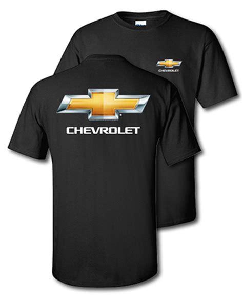 chevrolet t shirts chevrolet bowtie black t shirt chevymall