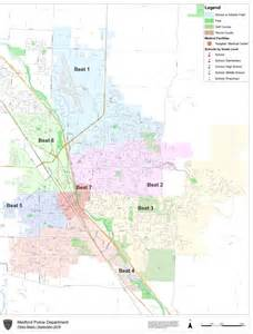 medford oregon maps city of medford oregon city of medford beat map