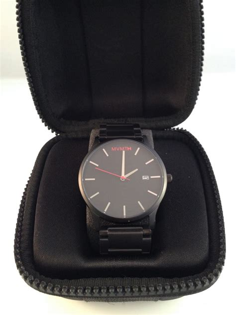 mvmt watches review mvmt watches black black review with review