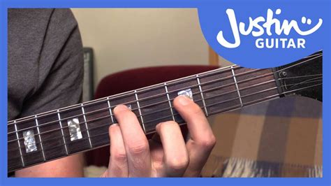 tutorial chord guitar youtube 10 basic jazz chords guitar tutorials justinguitar ja