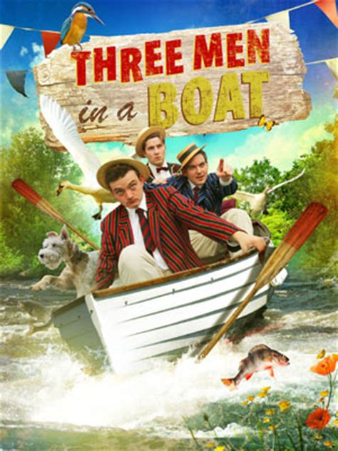 3 man in a boat three men in a boat at the new wolsey theatre ipswich