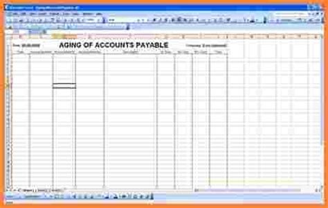 Ap Report Template Excel 8 Payment Spreadsheet Template Excel Spreadsheets