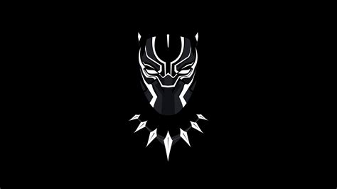 black panther minimal artwork  wallpapers hd