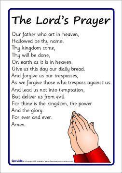 printable version of the lord s prayer printable the lord s prayer bible pinterest