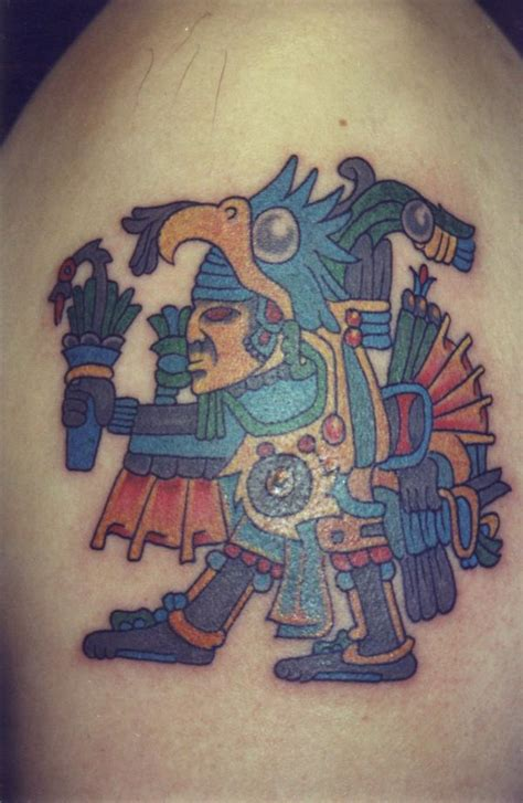 aztec eagle tattoo aztec tattoos best designs