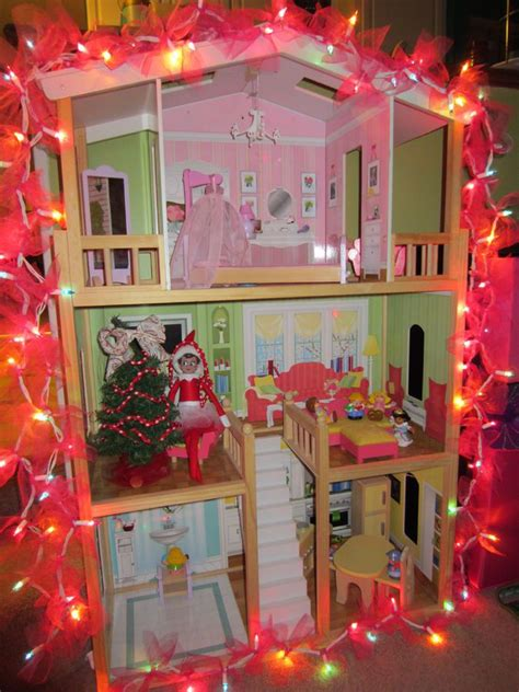 inside of a doll house inside a dollhouse lets play with elf pinterest