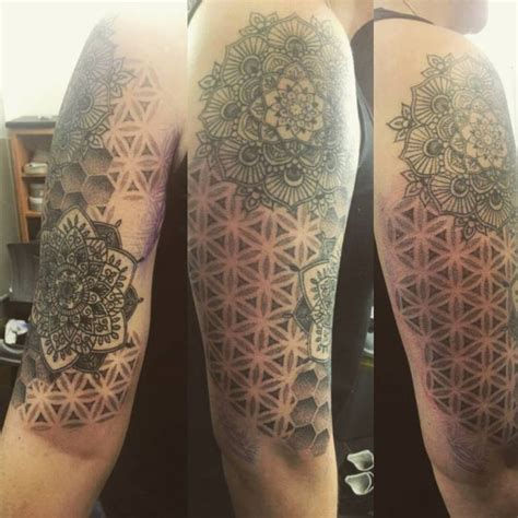 pattern of life tattoo 105 cool flower of life tattoo ideas the geometric