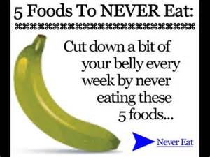 7 foods to never eat bad foods to eat youtube