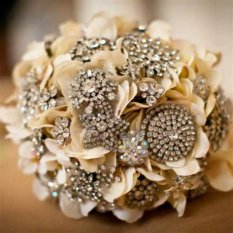 Wedding Flower Pins by Unique Wedding Bouquets Without Flowers Undercover Live