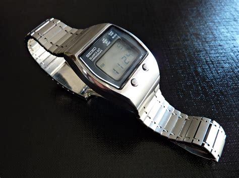 Am Arm 5009 by Seiko 0643 5009 Lcd Chronograph Der Ersten Stunde Uhrforum