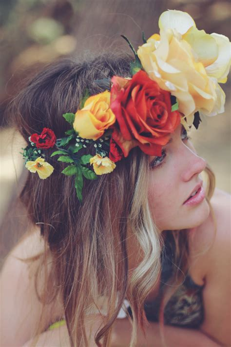 flower headband hairstyles tumblr 2 indie tumblr image 860156 by korshun on favim com
