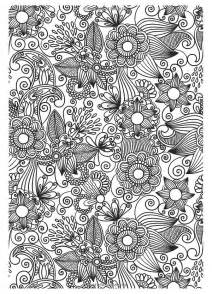coloring pages for grown ups the gorgeous colouring book for grown ups discover your