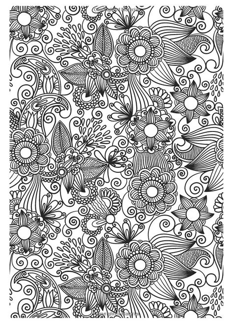 grown up coloring pages of flowers the gorgeous colouring book for grown ups discover your