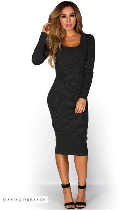 Ribbed Knit Sleeve Dress 17 best images about sweater dresses on