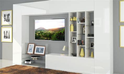 parete da soggiorno parete soggiorno groupon