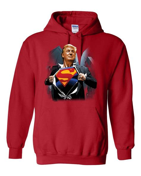 Hoodie Sweater Batman V Superman 2 1 donald shirt superman 2016 politics mens womens hoodie sweatshirt ebay