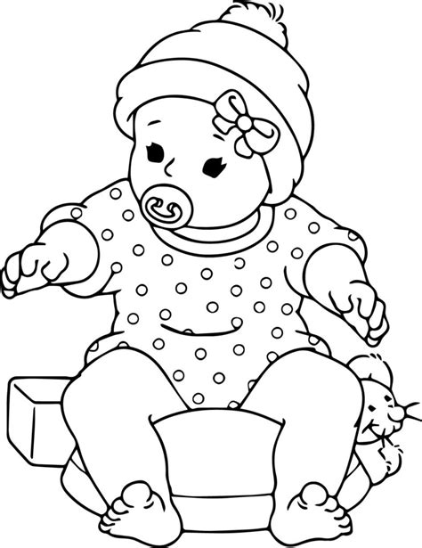 cheap baby doll coloring pages printable baby animal