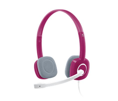 Metal Earphone Stereo Magnetic Dengan Microphone Pink headphones headsets centre best pc hardware prices